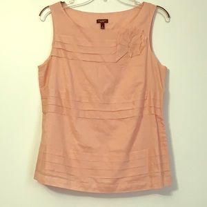 Talbots | Sleeveless Blouse - Pink